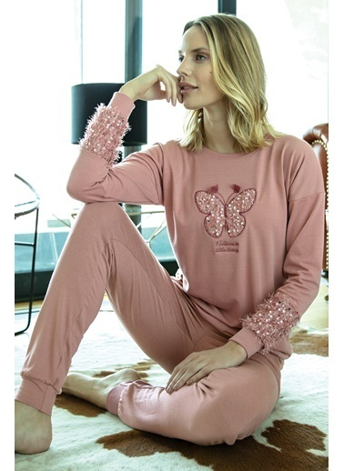 Anıl Pijama Takım Pembe